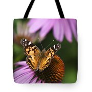 Fluttering Breeze Butterfly Tote Bag by Christina Rollo
