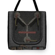 Flux Capacitor Mosaic Tote Bag