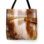 Flowing Its Course Tote Bag