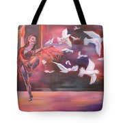Fly Above Tote Bag