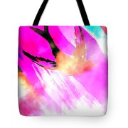 Fly Away Home Abstract Tote Bag