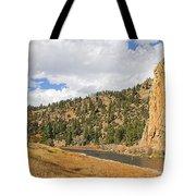 Fly Fishing The Big Hole River Montana Tote Bag