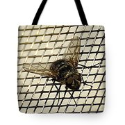 Fly From The Series The Imprint Of Man In Nature Tote Bag