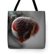 Fly On The Wall Digital Art Tote Bag