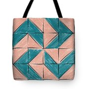 Flyfoot Quilt Block 1 Tote Bag