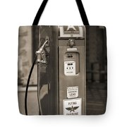 Flying A Gasoline - National Gas Pump 2 Tote Bag by Mike McGlothlen