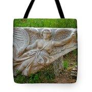 Flying Angel In Ephesus-turkey Tote Bag