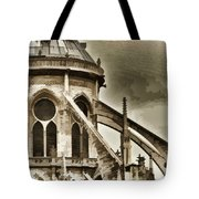 Flying Buttress At Notre Dame Tote Bag
