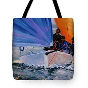 Flying Colors Two Tote Bag by Laura Lee Zanghetti
