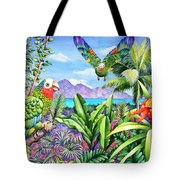 Flying Colours Tote Bag by Carolyn Steele