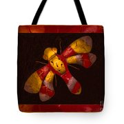 Flying Fantasies Of Light Abstract Painting Tote Bag