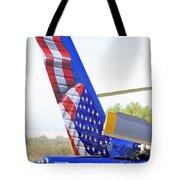 Flying Flag Tote Bag