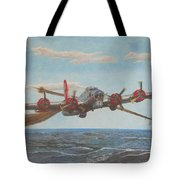 Coming Home - Boeing B-17 Flying Fortress Tote Bag