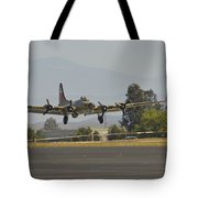 Flying Fortress Tote Bag