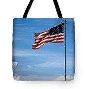 Flying High 7 Panoramic Tote Bag