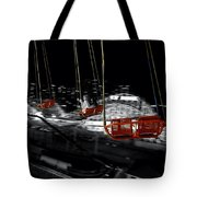 Flying In The Carousel Tote Bag