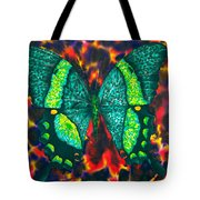 Flying Into Hades Tote Bag