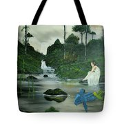 Flying Into Your Arms Tote Bag