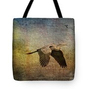 Flying Near The Moon Tote Bag