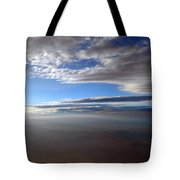 Flying Over Southern California Tote Bag