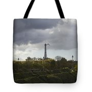 Flying Over The Tuileries Tote Bag