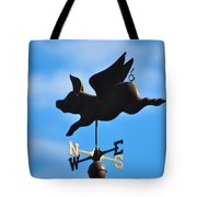 Flying Pig Tote Bag