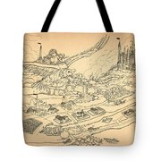 Flying Polly Over Capira Tote Bag