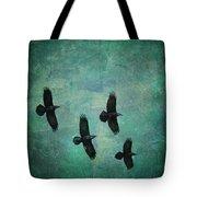 Flying Ravens Tote Bag