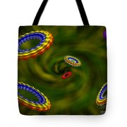 Flying Rings  Tote Bag