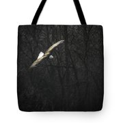 Flying The River Tote Bag