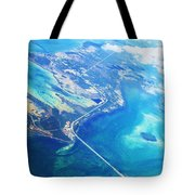 Flying To Key West Tote Bag