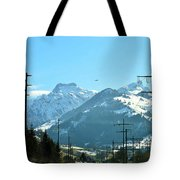 The Way To The Alps Tote Bag