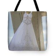 Flying Wedding Dress 3 Tote Bag