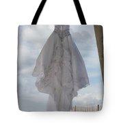 Flying Wedding Dress 4 Tote Bag