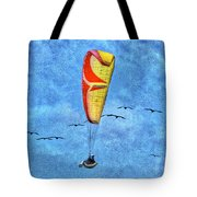 Flying With Birds Tote Bag