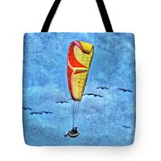 Flying With The Birds Tote Bag