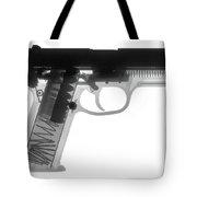 Fn P9a Hand Gun X-ray Print Tote Bag