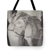 Focal Point . . Or . . The Will To Live Tote Bag by Sean Connolly