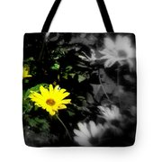 Focus On 2 Yellow Daisies Tote Bag