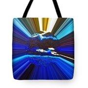 Focus On Blue Tote Bag