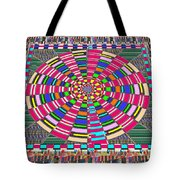 Focus Target Yoga Mat Chakra Meditation Round Circles Roulette Game Casino Flying Carpet Energy Mand Tote Bag