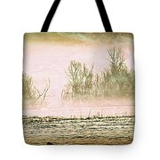 Fog Abstract 1 Tote Bag by Marty Koch