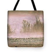 Fog Abstract 2 Tote Bag by Marty Koch