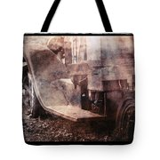Fog And Rust Tote Bag