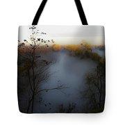 Fog Photo Tote Bag