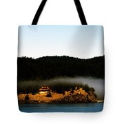 Fog Rolling By Tote Bag