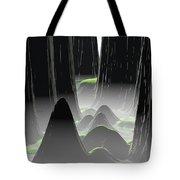 Foggy Canyon Pass Tote Bag