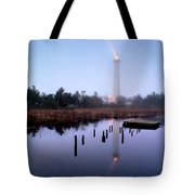 Foggy Cape May Light Tote Bag