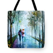 Foggy Day New Tote Bag by Leonid Afremov