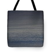 Foggy Day Over The Pacific Ocean Tote Bag
